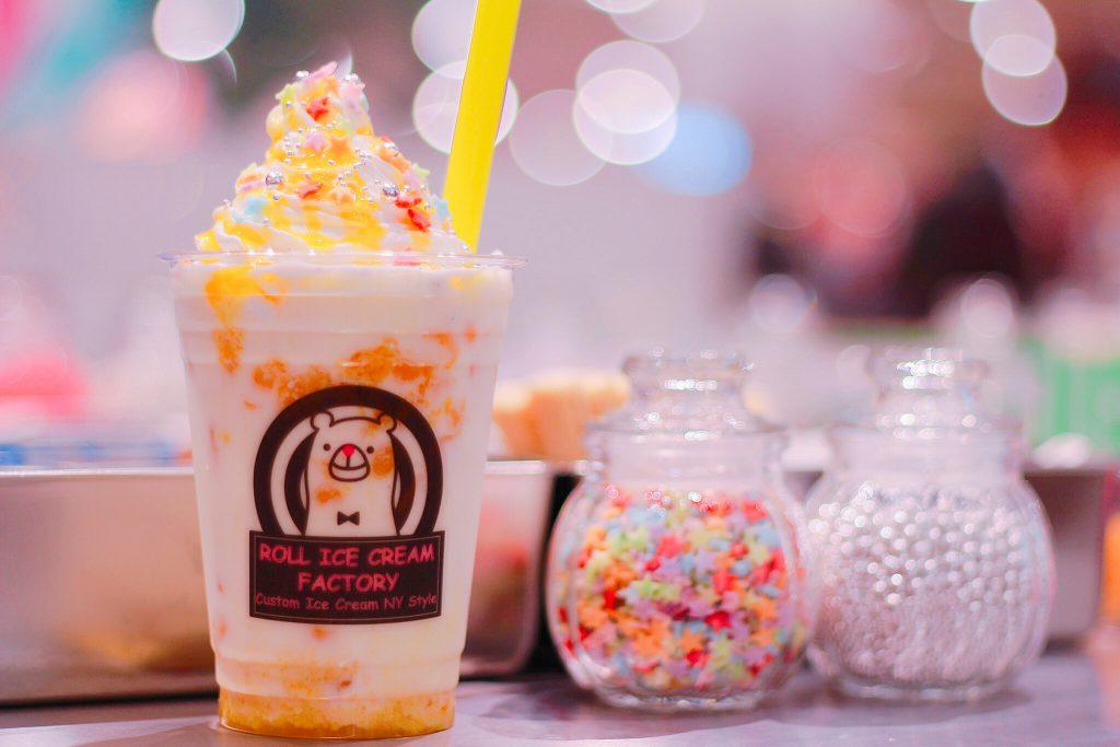 ロールアイスクリームファクトリーのタピオカ