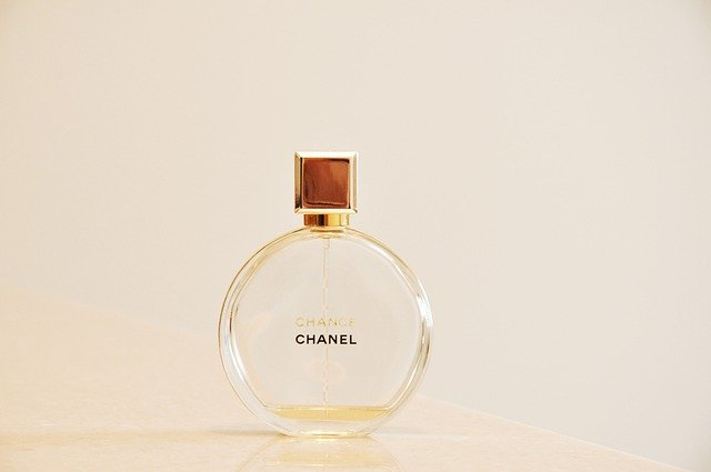 シャネルの香水(チャンス)のボトル