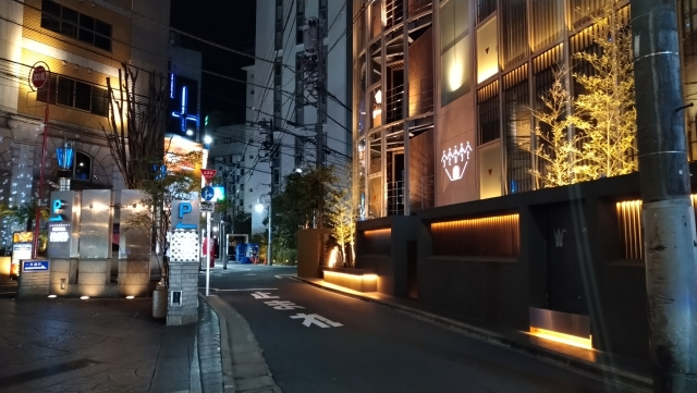 歌舞伎町のラブホ街