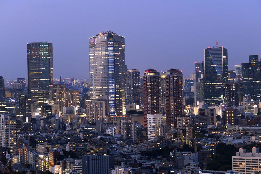 タワーマンションからの夜景